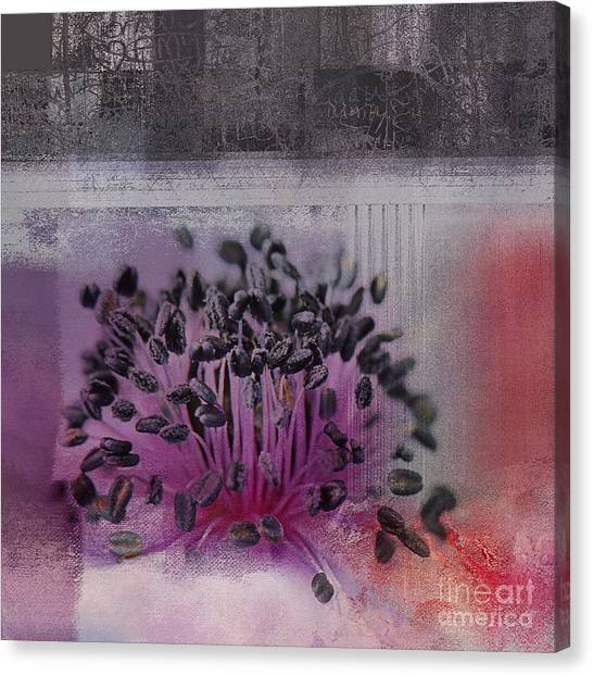 Floral Digital Art Canvas Print - Floralart - 02b by Variance Collections