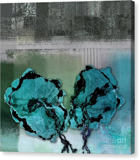 Floral Digital Art Canvas Print - Floralart - 0302bc09 by Variance Collections