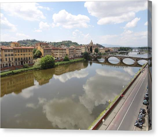 Florence In Springtime Canvas Print