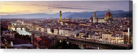 World Heritage Canvas Print - Florence by Rod McLean