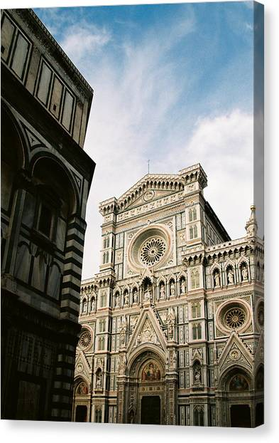 Florentine Architecture Canvas Print by Michael  Cryer