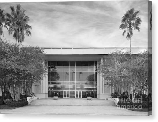 Florida Atlantic University Fau Canvas Print - Florida Atlantic University Williams Administration Building by University Icons
