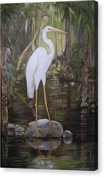 Florida Bird Canvas Print