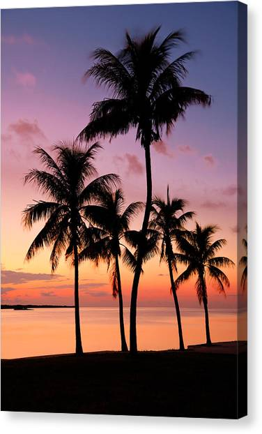 Beach Sunsets Canvas Print - Florida Breeze by Chad Dutson