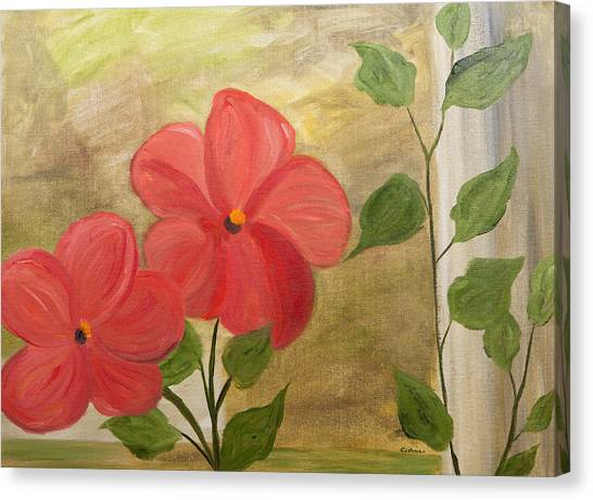 Red Leaf Hibiscus Canvas Prints Page 25 Of 31 Fine Art America