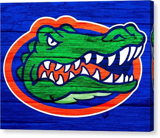 University Of Florida Canvas Print - Florida Gators Barn Door by Dan Sproul