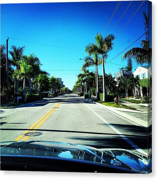 Dodge Canvas Print - Florida Drive by Jonathan Keane