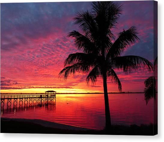 Florida Sunset II Canvas Print