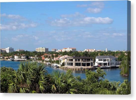 Florida Vacation Canvas Print