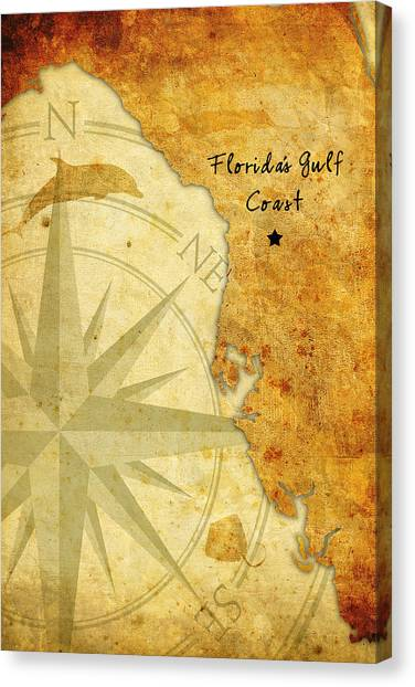Florida's Gulf Coast Canvas Print