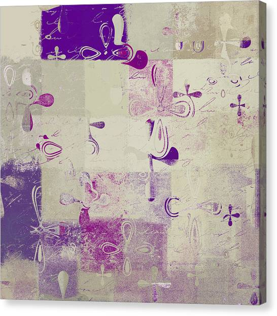 Abstract Digital Art Canvas Print - Florus Pokus A01d by Variance Collections