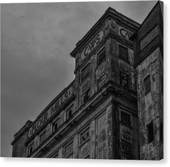 Flour Mills II Canvas Print by Andrew Menzies