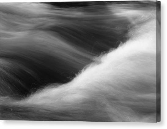 Canvas Print featuring the photograph Flow by Brad Brizek