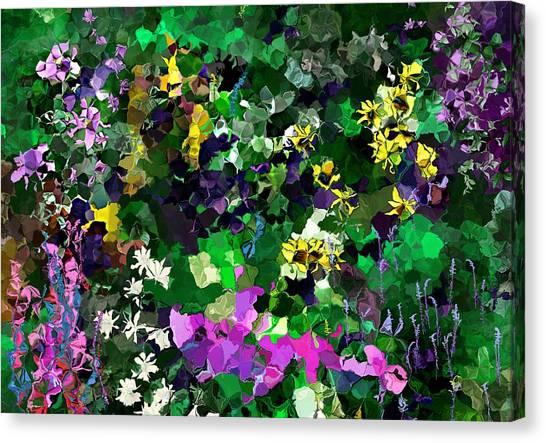 Canvas Print - Flower Garden by David Lane