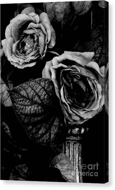 Flower Is Woman Canvas Print