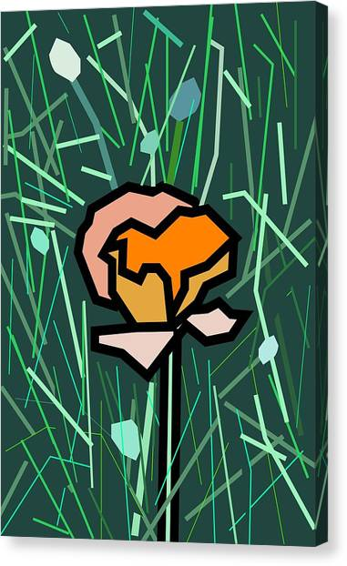 Flower Canvas Print by Kenneth North