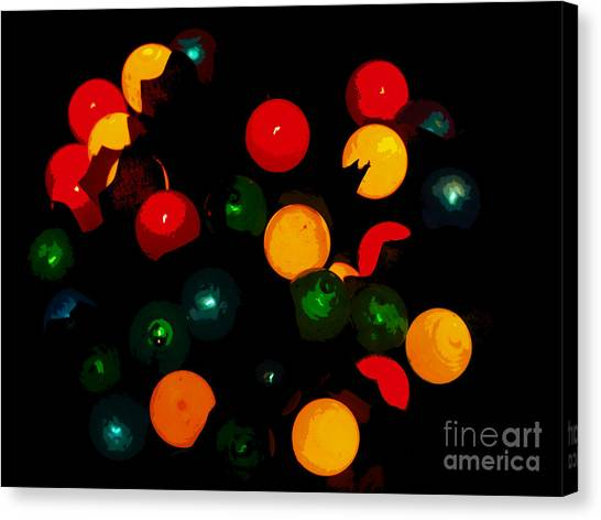Flower Light Bunch Canvas Print