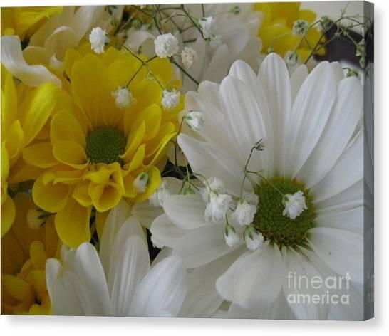 Flower Mix Canvas Print