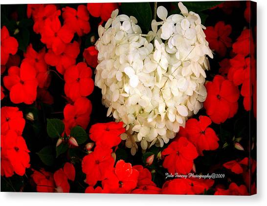 Flower Of My Heart Canvas Print