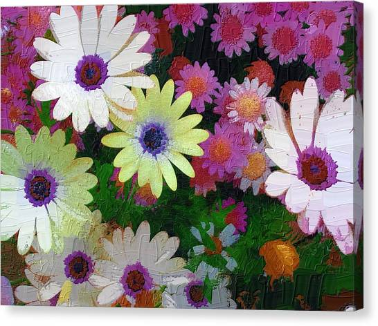 Flower Patch Canvas Print