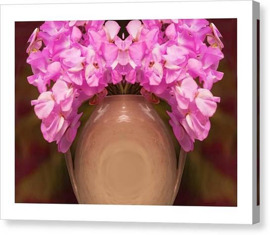 Flower Pot Iv Canvas Print by Ck Gandhi