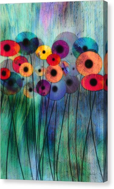 Flower Power Three Canvas Print