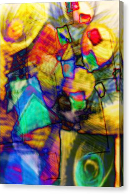 Flower Soldiers Canvas Print by Robert M Cooper