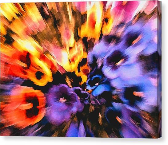 Flower Trip Canvas Print
