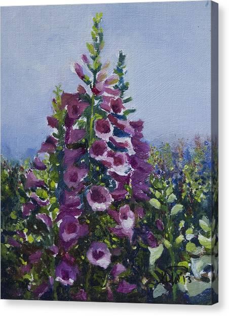 Flower_03 Canvas Print