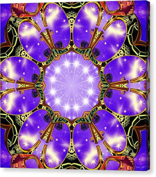 Flowergate Canvas Print