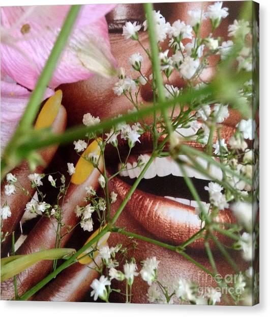 Flowergirl2 Canvas Print