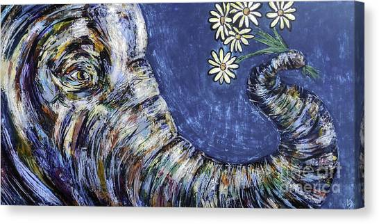 Midnite Canvas Print - Flowers For You by Lovejoy Creations