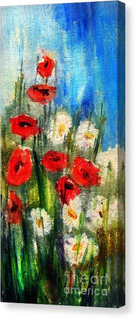Flowers - Poppy's Flower Canvas Print