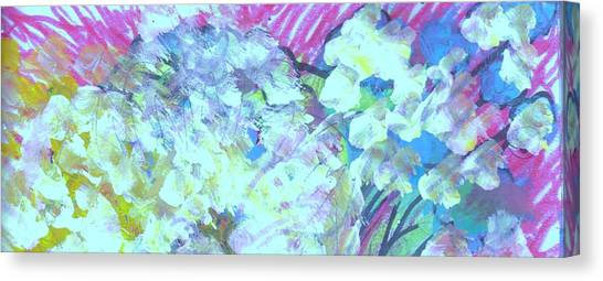 Canvas Print - Flowers Softly Speak To Me by Anne-Elizabeth Whiteway