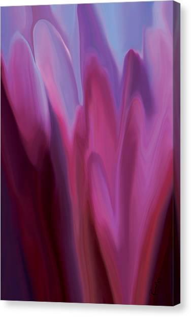 Flowery 1 Canvas Print
