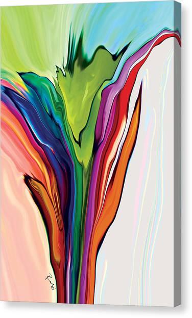 Flowery 5 Canvas Print