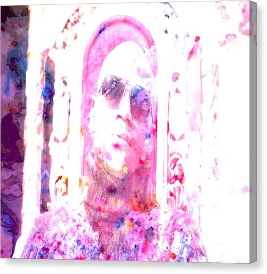 Floyd Mayweather Canvas Print - Floyd Mayweather by Brian Reaves