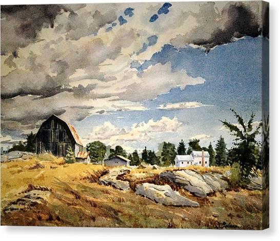 Floyd's Barn No. 2 Canvas Print