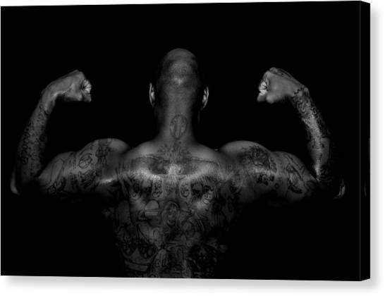 Body Art Canvas Print