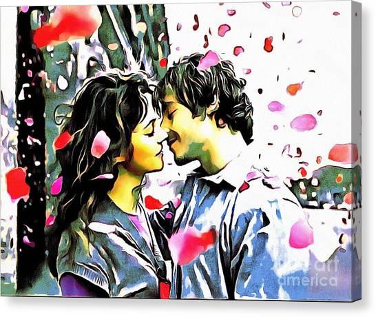 Fluff--n-stuff Canvas Print