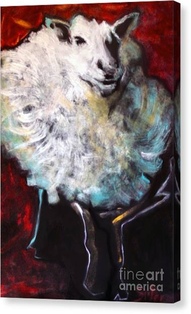 Fluffy Canvas Print