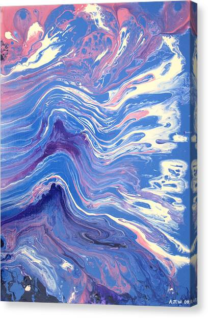 Fluids Canvas Print - Fluidity by Andrew Williams