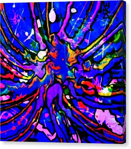 Painters Canvas Print - #fluorescents #fantasy #artisticbliss by Dike Artisticon