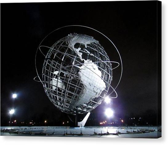 Flushing Meadows - 18 Canvas Print