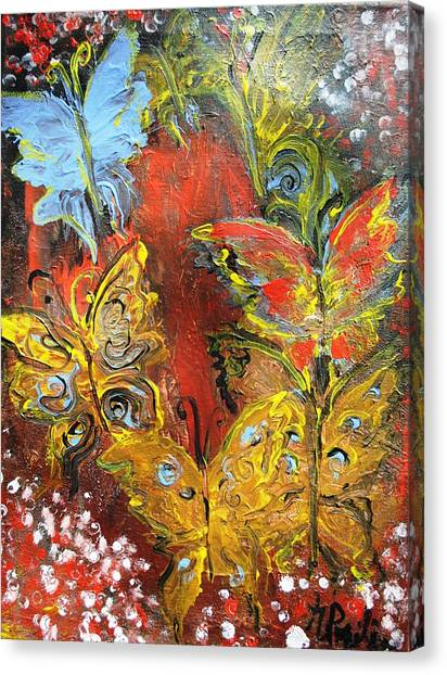 Fluttery Butterflies Canvas Print