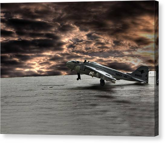 Toy Airplanes Canvas Print - Fly Away With Your Imagination by Thomas Young