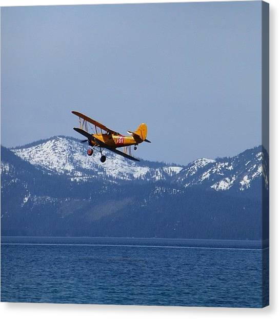 Seaplanes Canvas Print - Fly By  #silkshots #mafia_life by Marguerite Spieker