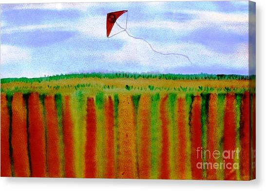 ...fly For Peace And Freedom... Canvas Print by Jutta Gabriel