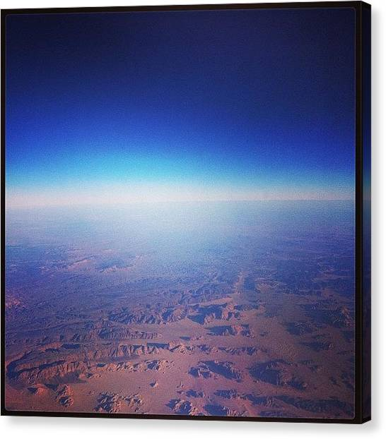 Syrian Canvas Print - Fly To The Middle East.  #sky by Ryoji Japan