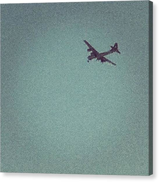 Prop Planes Canvas Print - Flyby From The 1940s. #plane #flight by Chase Alexander
